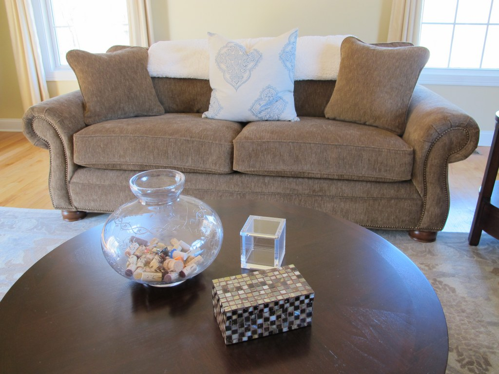 Simple Coffee Table Decor Tina 39 S Chic Corner