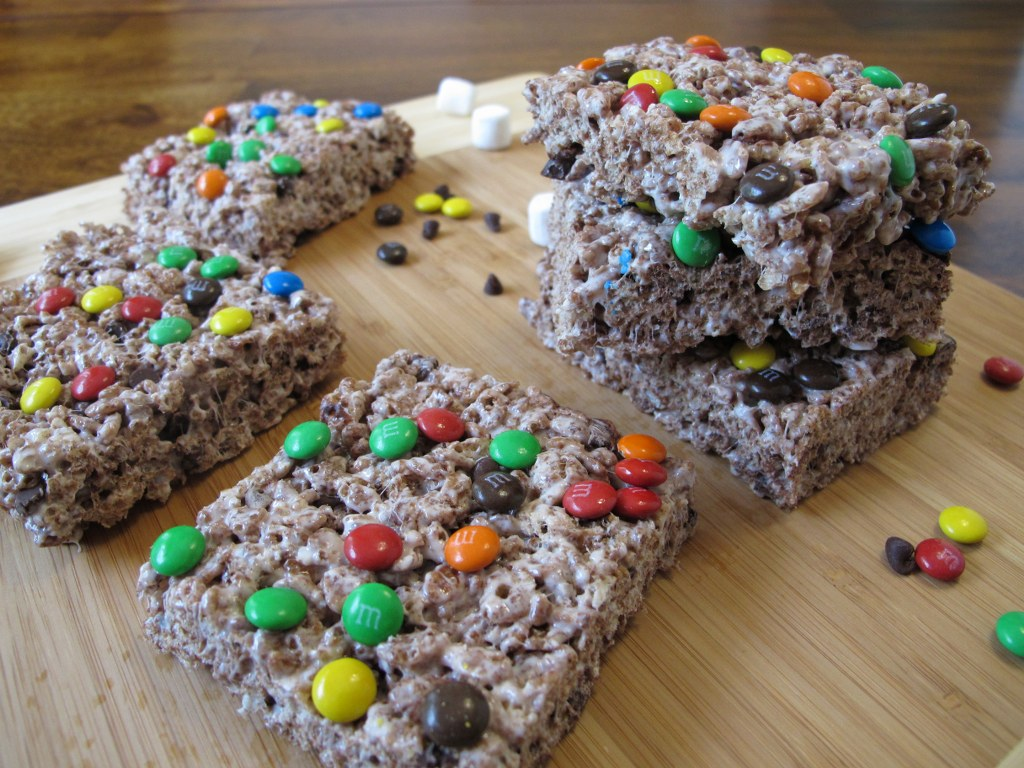 Triple Chocolate Rice Krispies Treats – Tina's Chic Corner