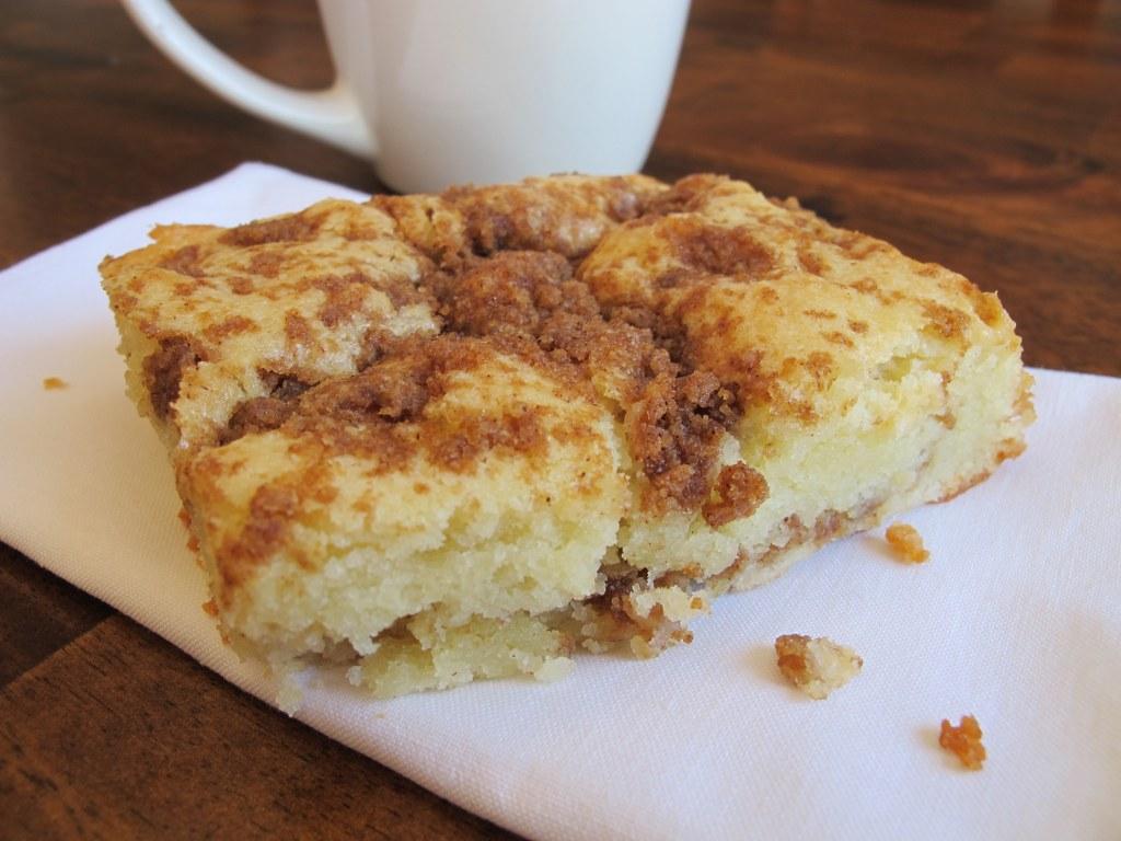 Cinnamon-Streusel Coffee Cake Recipe — Dishmaps