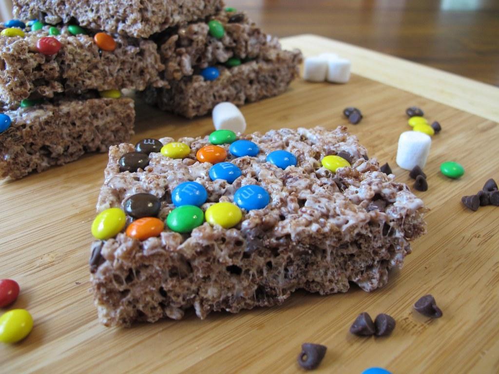 Triple Chocolate Rice Krispies Treats – Tina's Chic Corner