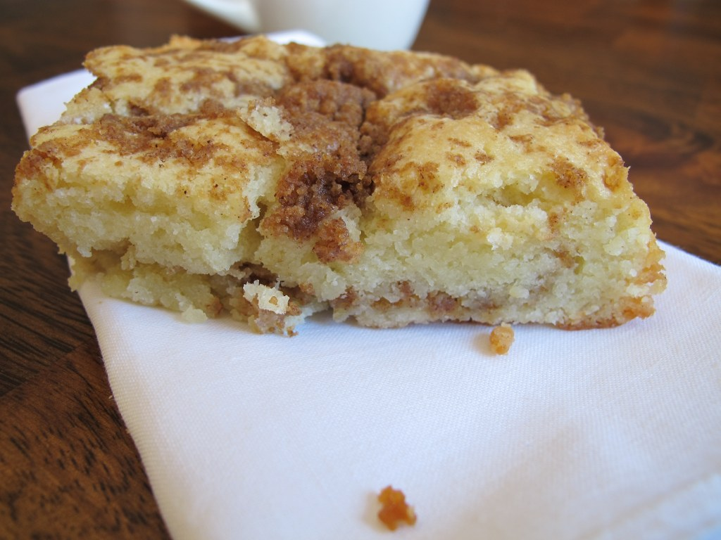 Cinnamon-Streusel Coffee Cake Recipe — Dishmaps