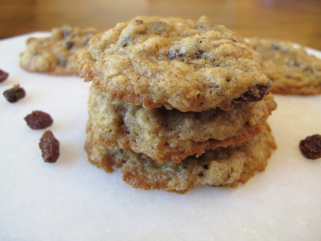 bacon oatmeal and raisin cookies chai oatmeal raisin cookies chewy low ...