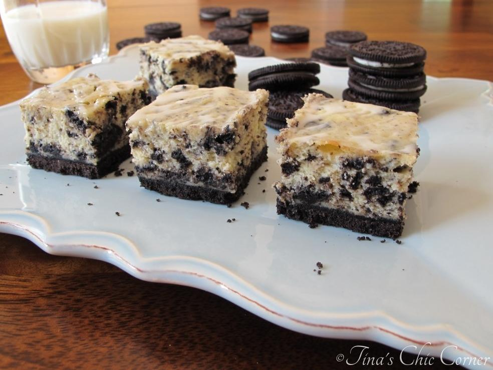 Oreo Cheesecake Bars – Tina's Chic Corner