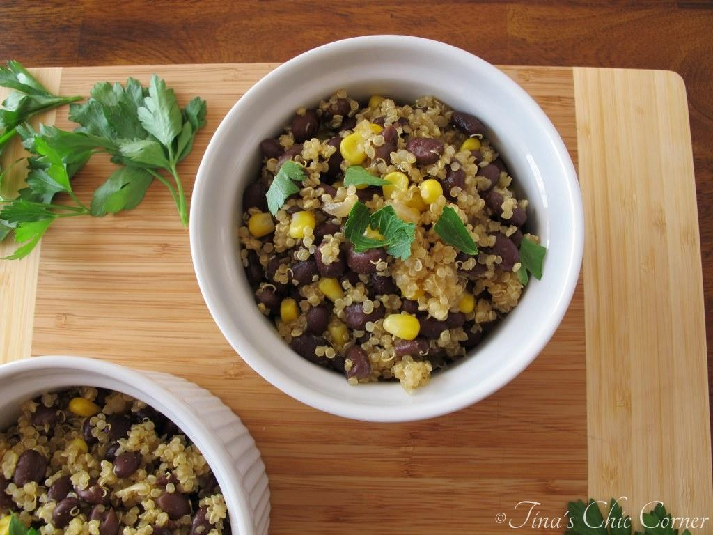 Quinoa and Black Beans – Tina's Chic Corner