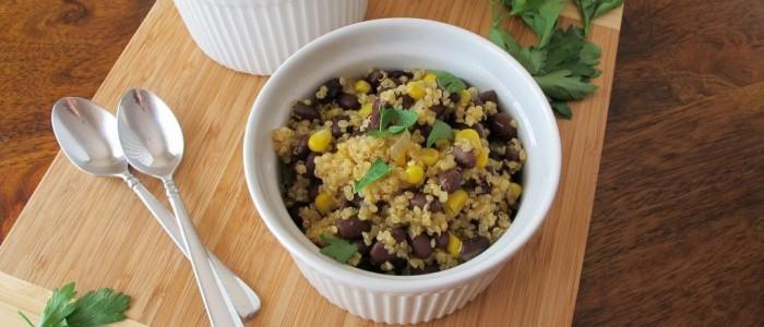 Quinoa and Black Beans – Tina's Chic Corner