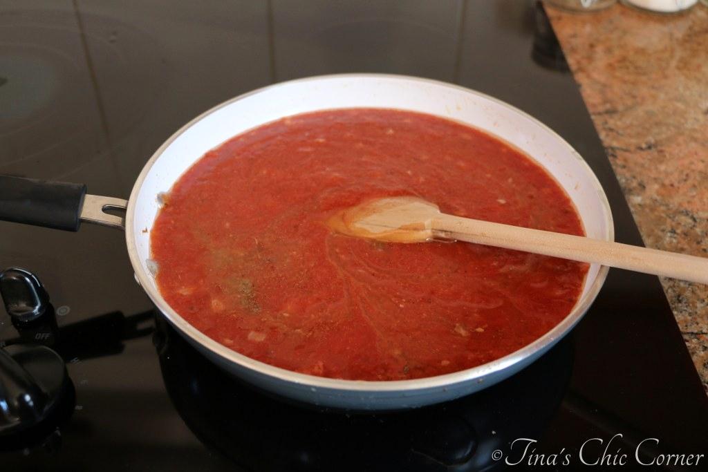 Pasta With Tomato Cream Sauce – Tina's Chic Corner