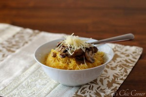 07Spaghetti Squash And Mushrooms
