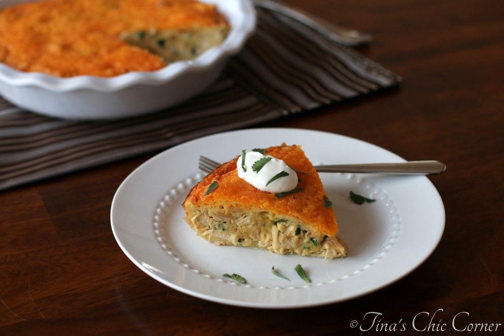 Chicken Quesadilla Pie – Tina's Chic Corner