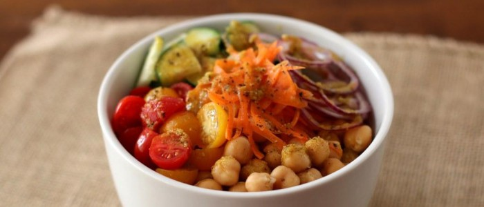 01Indian Chickpea Salad