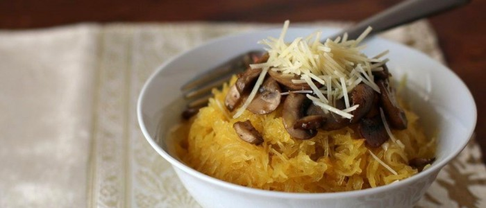 06Spaghetti Squash And Mushrooms