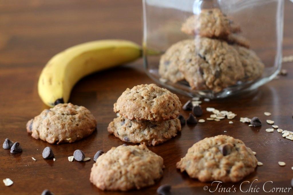 Banana Chocolate Chip Cookies – Tina's Chic Corner