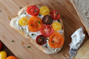 01Tomato Sandwich With Herbed Goat Cheese