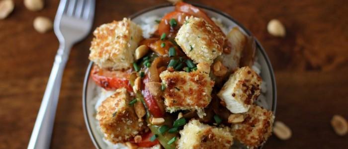 04Sesame Crusted Tofu