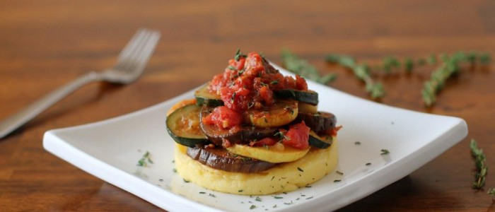 04Ratatouille Over Polenta