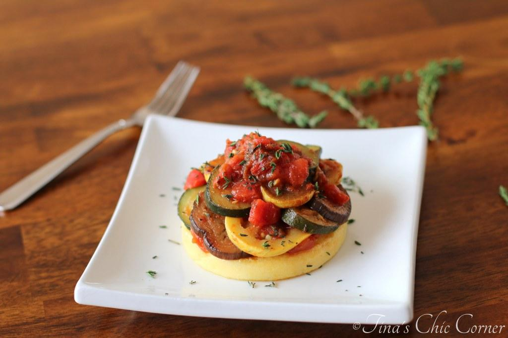 06Ratatouille Over Polenta