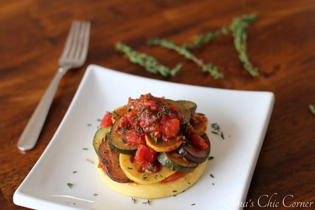 08Ratatouille Over Polenta