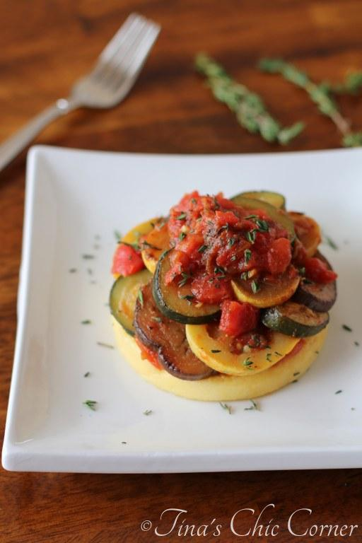 09Ratatouille Over Polenta
