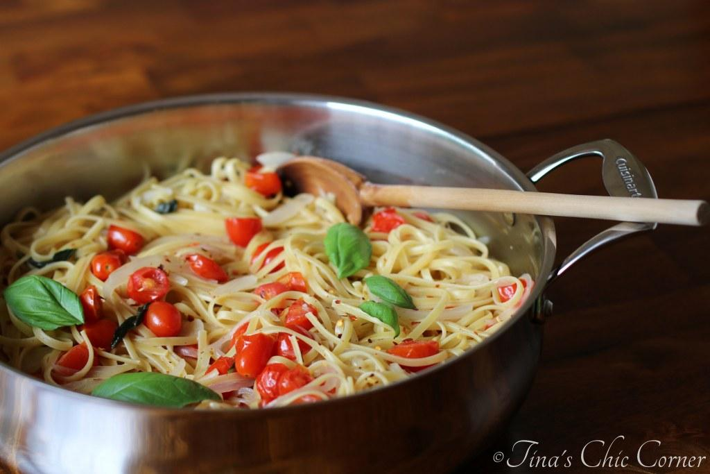 This pasta dish is like a caprese salad or a margarita pizza, without ...