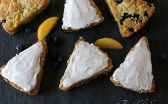 12Peach Blueberry Scones