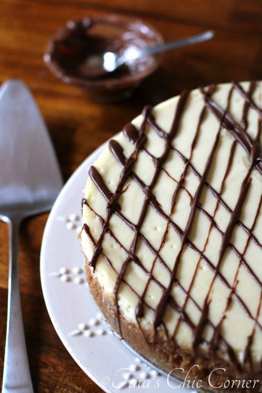 18Chocolate Hazelnut Nutella Cheesecake
