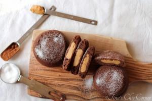 Chocolate Peanut Butter Surprise Cookies10