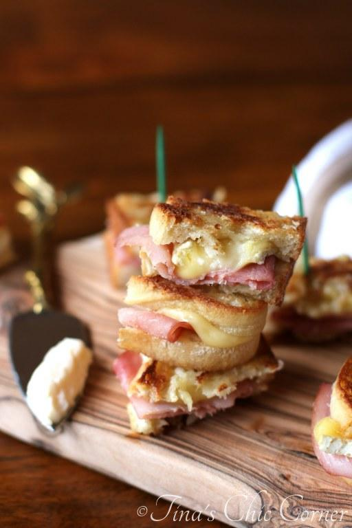 Grilled Ham and Brie12