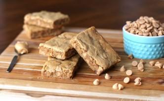 Peanut Butter Blondies08