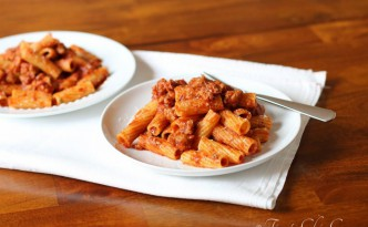Spicy Sausage and Pasta05