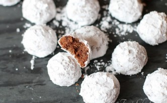 Double Chocolate Snowball Cookies10
