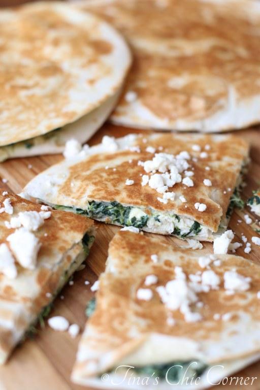 Spinach Pie Quesadilla Recipe — Dishmaps