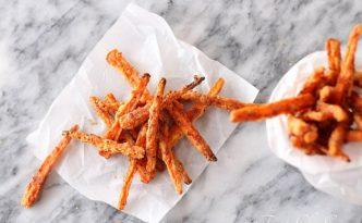 Baked Parmesean Carrot Fries04