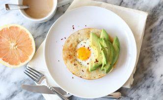 Egg Avocado Bagel01