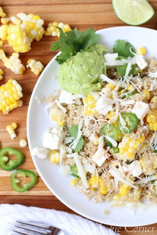 Mexican Corn and Quiona Salad016