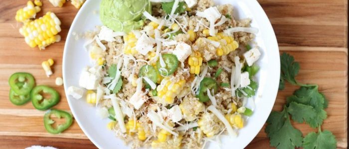 Mexican Corn and Quiona Salad01