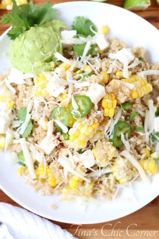 Mexican Corn and Quiona Salad05