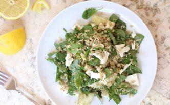 Cucumber Quinoa Spinach Salad01