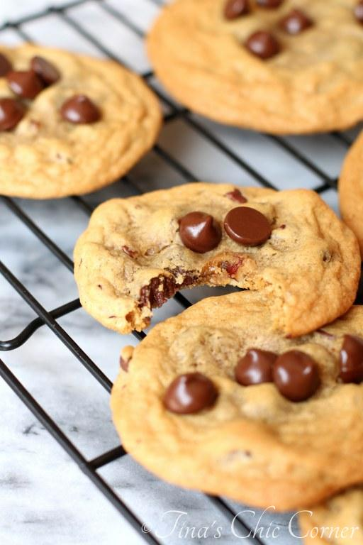 Dark Chocolate Chip Nut Cookies08